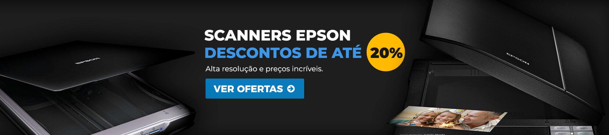 Banner desconto 20% scanners Epson