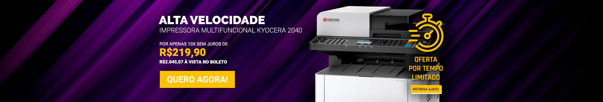 Kyocera 2040 - R$2199 - timer