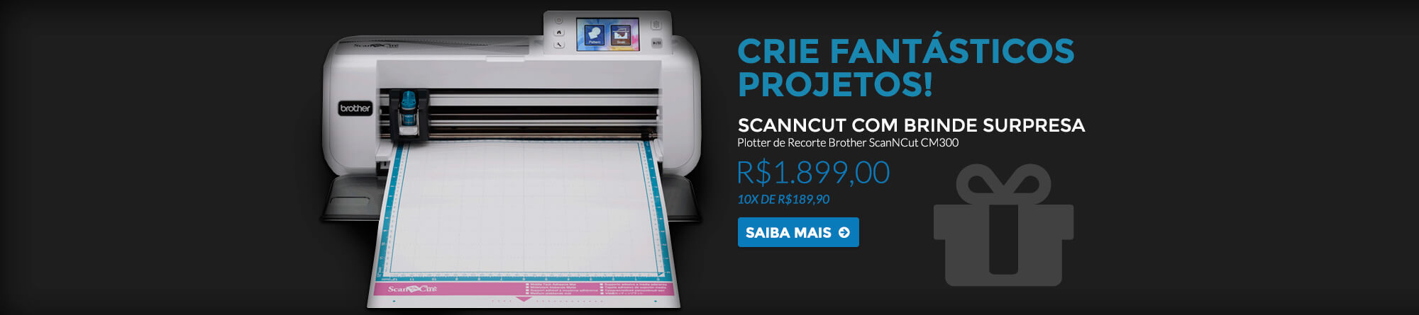 Brother Scancut Brinde