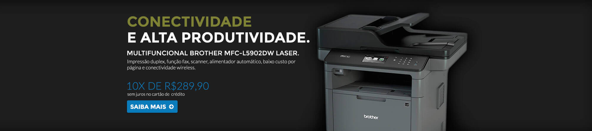 Brother 5902 - R$2899