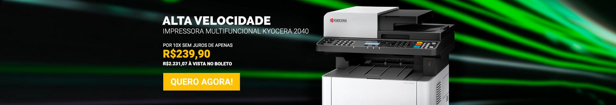 Kyocera 2040 - R$2.399