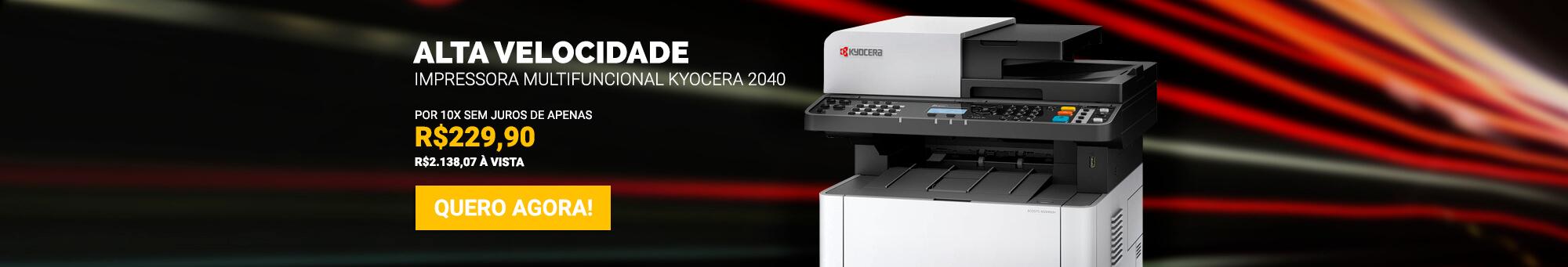 Kyocera 2040 - R$2.299