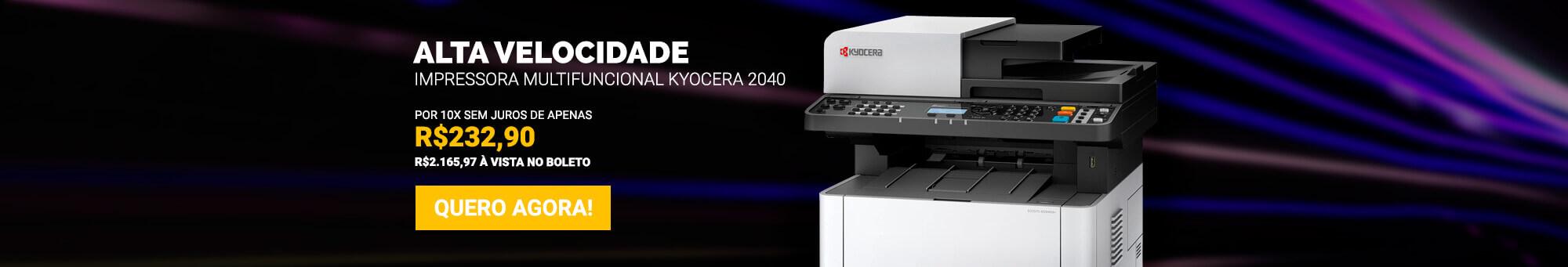 Kyocera 2040 - R$2.329