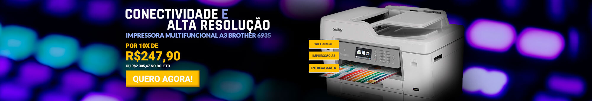 Multifuncional Brother 6935