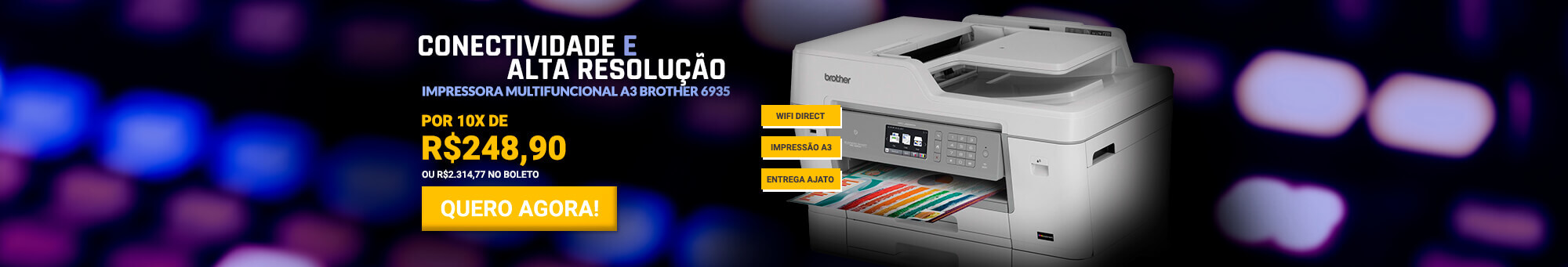 Multifuncional Brother 6935