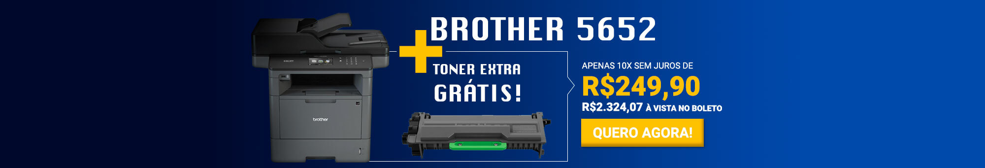 Brother 5652 + toner 3472