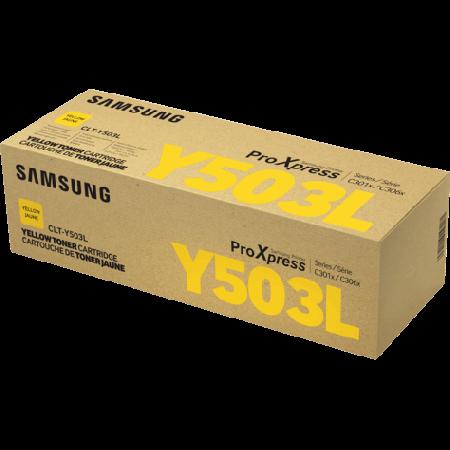 Toner Samsung CLT-Y503L Amarelo Alto Rendimento