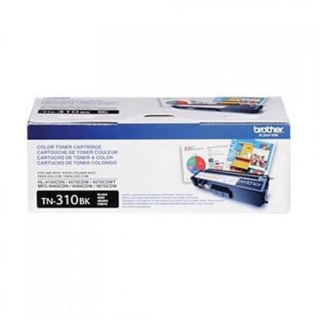 Cartucho Toner Brother TN-310BK Preto