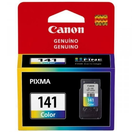 Cartucho Tinta Canon CL141 Colorido 8ml