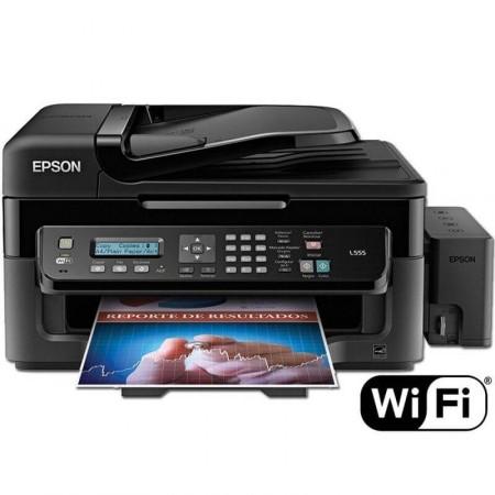 Multifuncional Epson L555 Bulk E Wi Fi Impressorajato