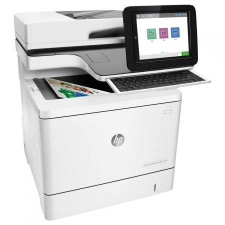 Impressora Multifuncional HP E52645c Flow Laser Mono