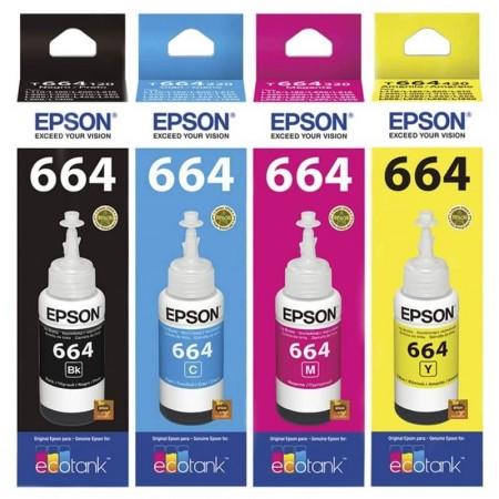 Kit Garrafas de Tinta Epson 664