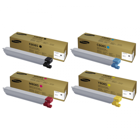 Kit Toners Samsung CLT 808S p/ X4220 X4250 X4300