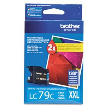Brother LC-79C cartucho