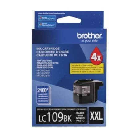 Cartucho Brother LC 109 BK Preto Super Alto Rendimento