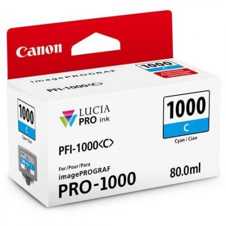caixa canon pfi 1000 ciano