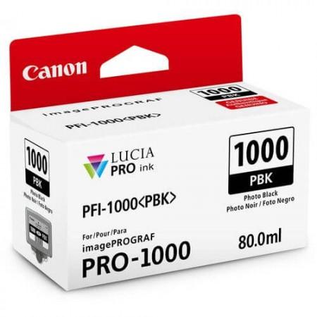 caixa canon pfi 1000 photo black