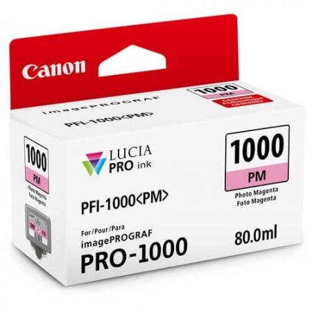 cartucho canon pfi 1000 photo magenta