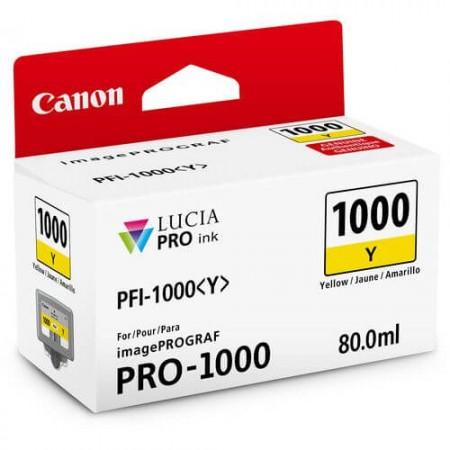 canon pfi 1000 amarelo