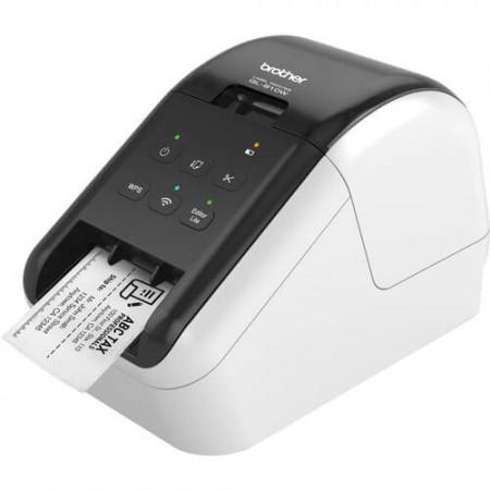 Impressora Térmica Etiqueta Brother Ql810w Colorida Usb e Wi-fi Bivolt