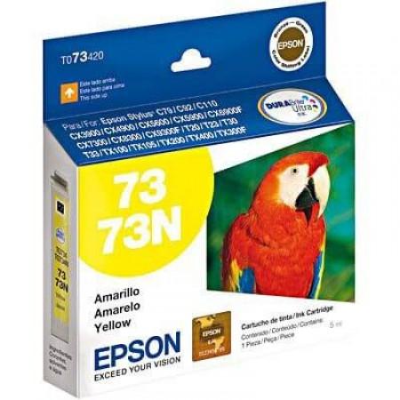Cartucho Epson T073420-AL Amarelo