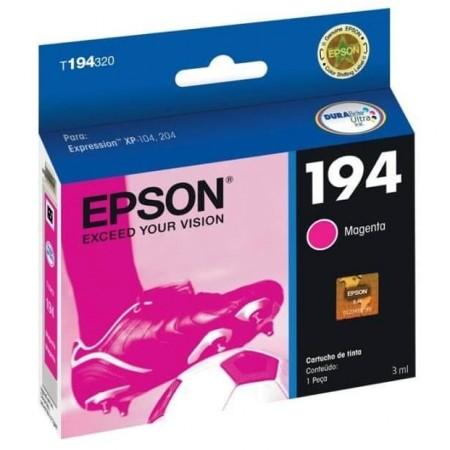 Cartucho de Tinta Epson 194 T194320 Magenta