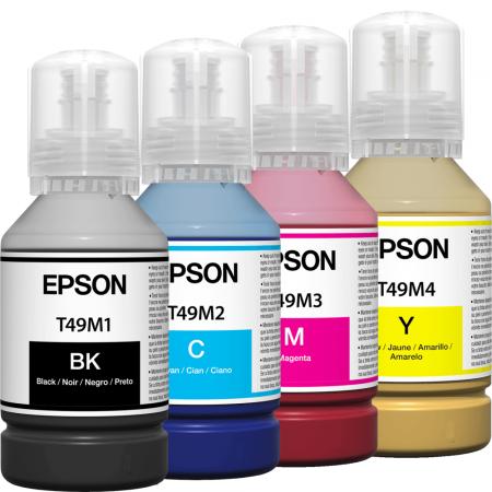 Kit Refis de Tinta Epson T49M 140ml Sublimática