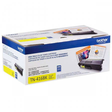 Toner Brother TN-416Y Amarelo
