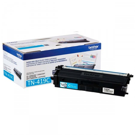 Toner Brother TN-419C Ciano Extra Rendimento