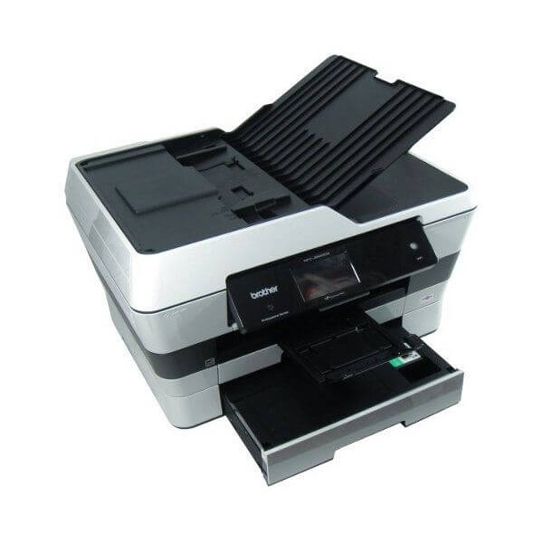 how to send a fax on a brother mfc-j6920dw