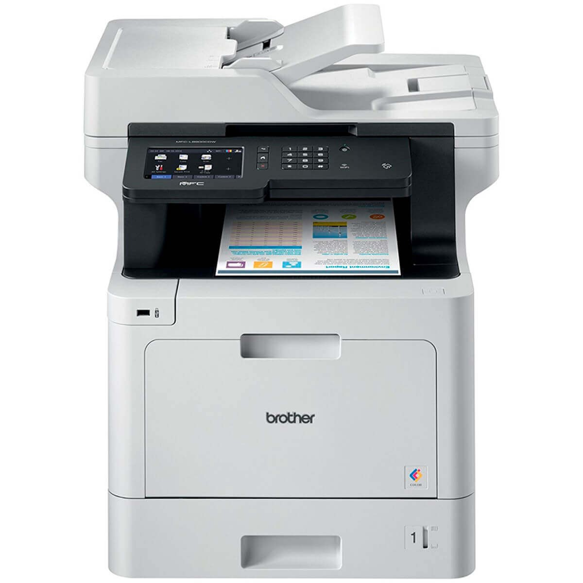Impressora Multifuncional Brother 8900 Mfc L8900cdw Laser
