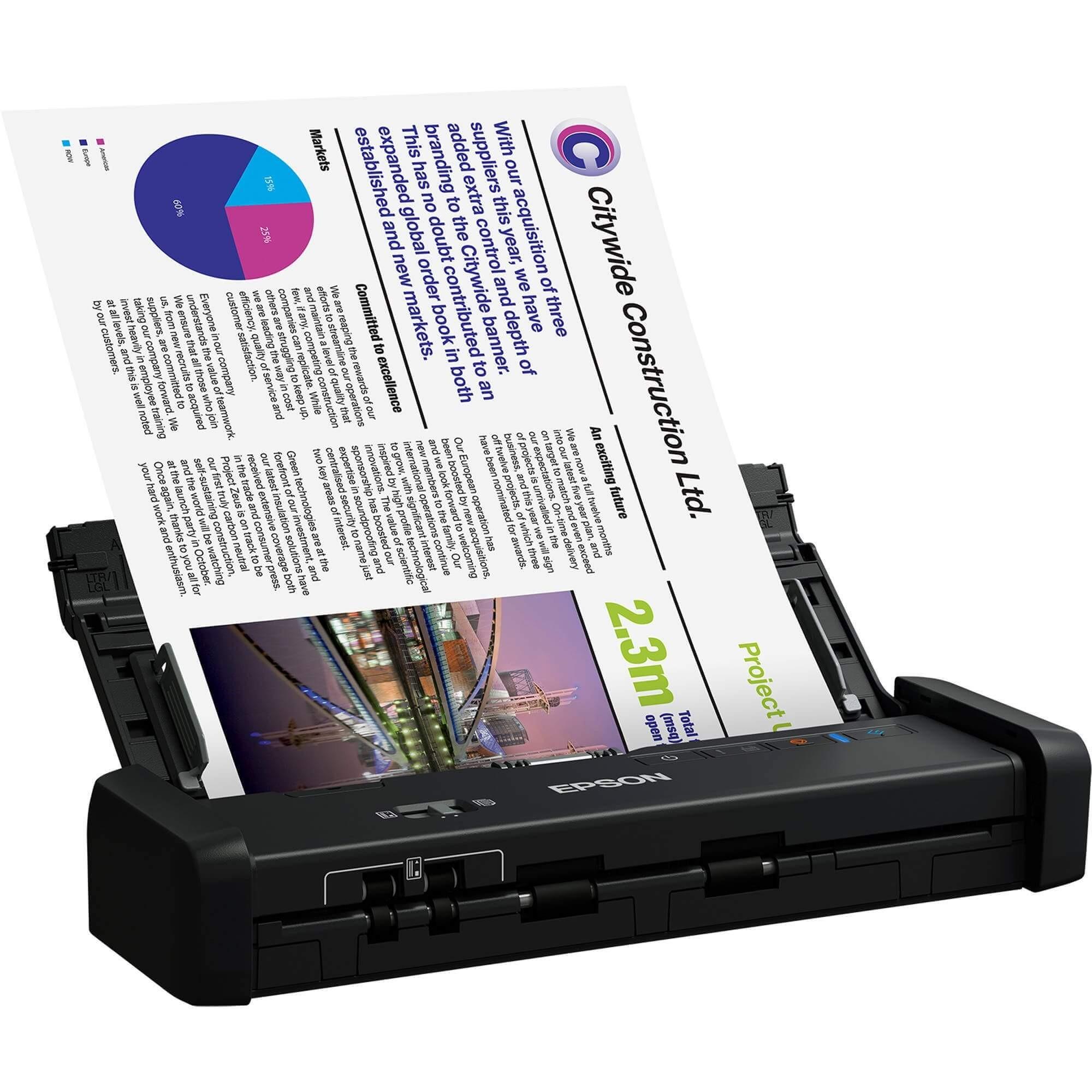 Scanner Portátil Epson ES-200 WorkForce