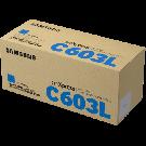 Toner Samsung CLT-C603L Ciano Alto Rendimento