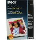 Papel Especial Premium Semi Gloss A3+ Epson 20 Folhas 251g
