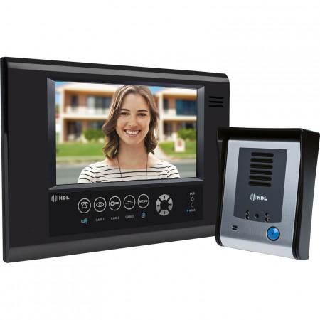476dab816 Vídeo Porteiro HDL com tela Touch screen SENSE Seven S -Preto