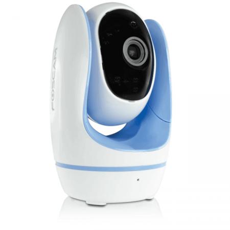 Câmera IP Babá Eletrônica Foscam Fosbaby Azul