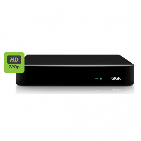 Gravador Digital de Vídeo Híbrido 4 Canais GIGA HVR GS08 OPEN HD
