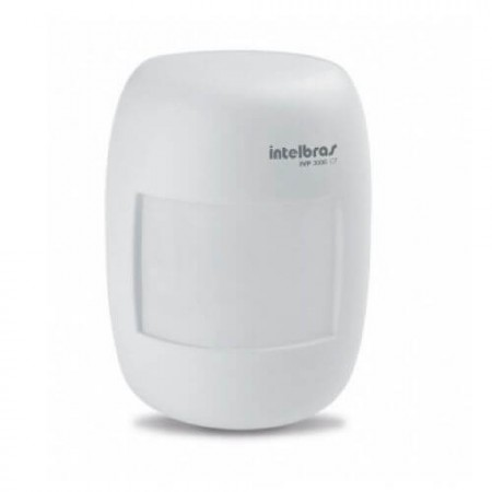 Sensor infravermelho Passivo para Alarme Intelbras IVP 3000 CF com fio