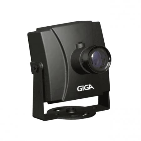 Mini Câmera GIGA CCD Sony Effio 760 linhas GS7013E 3.6mm