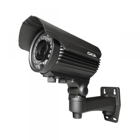 Câmera de Segurança IP 30m GIGA GS IP1300TVP Preta