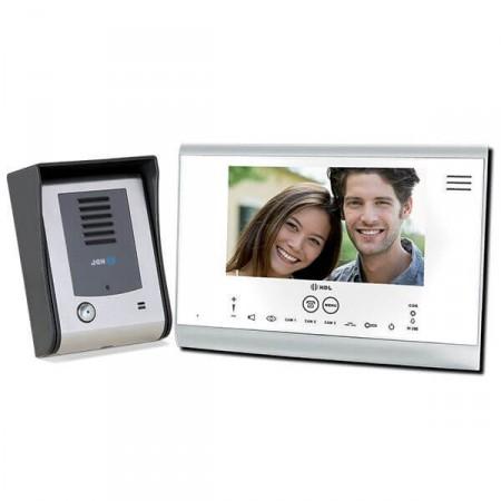167d8b03e Vídeo Porteiro HDL com Tela Touch Screen SENSE Seven Branco. Porteiro  Eletrônico com Vídeo SENSE Seven Branco