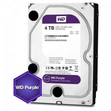 HD Sata Western Digital Interno 4TB WD40PURX