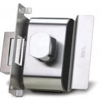 Fechadura Porta de Vidro HDL PV90 1R-B AF Abre p Fora 1 Folha-Recorte