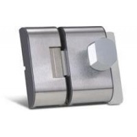 Fechadura para Porta de Vidro de sobrepor HDL PS 90 Inox