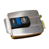 Fechadura HDL C-90 Dupla com Botão Inox 90.01.03.033