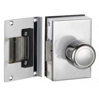 Fechadura porta de vidro 1 Folh/Rec. AMELCO Abre para dentro - FV33ICR