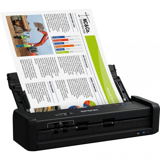 Scanner Portátil Epson ES-300W Workforce Wireless
