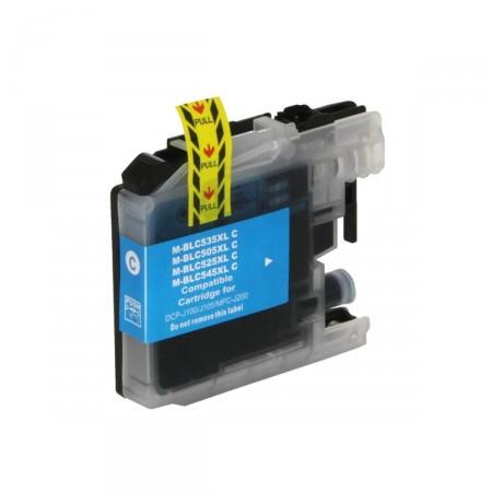 Cartucho de Tinta Brother LC-505C Ciano TP Compatível