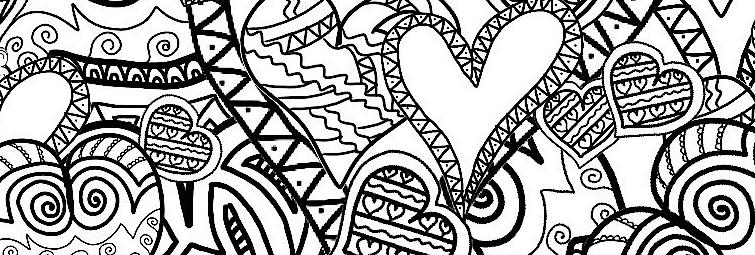 Imprima Gratuitamente Desenhos Antiestresse Para Colorir